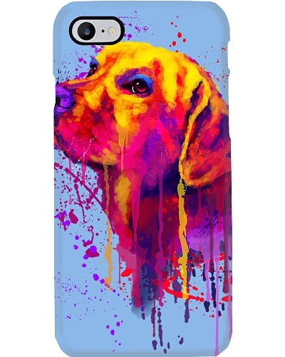 Labrador Water Color Phone Case