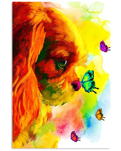 Cavalier Butterfly Water Color