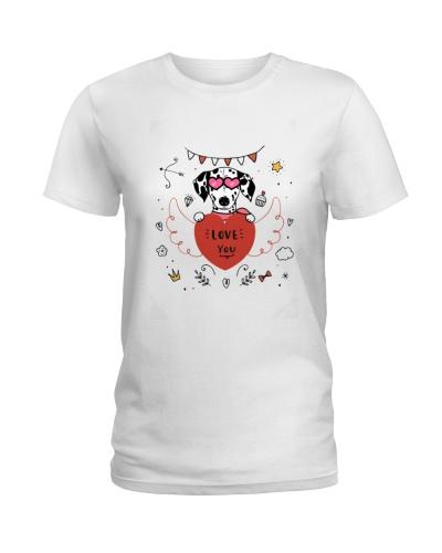 Dalmatian Love you