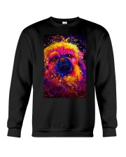 Pekingese Water Color Crewneck Sweatshirt thumbnail
