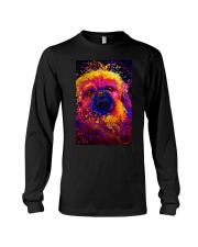 Pekingese Water Color Long Sleeve Tee thumbnail