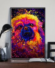 Pekingese Water Color 24x36 Poster lifestyle-poster-2