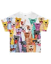 Pitbull Infull Multi All-over T-Shirt front
