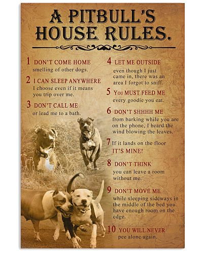 Pitbull House Rules