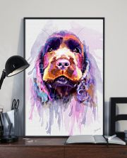 Cocker Spaniel Water Color 11x17 Poster lifestyle-poster-2