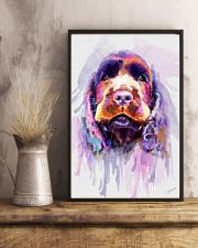 Cocker Spaniel Water Color 11x17 Poster lifestyle-poster-3