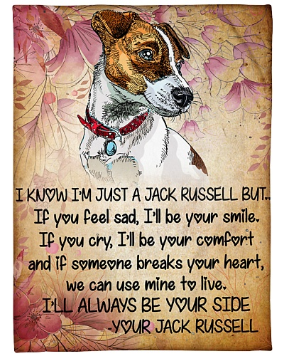 I wll Alway Be Yourside Jack russell dog