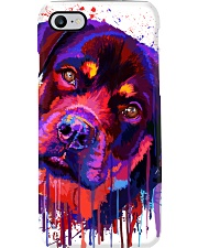 ROTTWEILER WATERCOLOR POSTER Phone Case thumbnail
