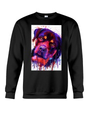 ROTTWEILER WATERCOLOR POSTER Crewneck Sweatshirt thumbnail