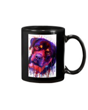 ROTTWEILER WATERCOLOR POSTER Mug thumbnail