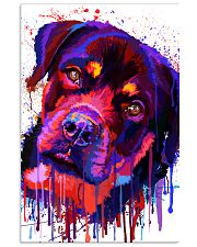 ROTTWEILER WATERCOLOR POSTER Vertical Poster tile