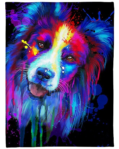 Border Collie Water Color