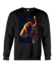 Bull Terrier Poster Unique Art V4 Crewneck Sweatshirt tile