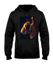 Bull Terrier Poster Unique Art V4 Hooded Sweatshirt thumbnail