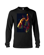 Bull Terrier Poster Unique Art V4 Long Sleeve Tee thumbnail