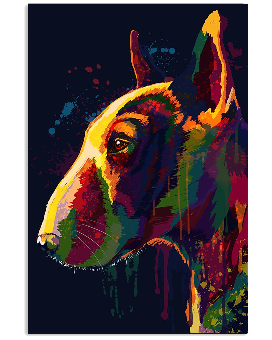 Bull Terrier Poster Unique Art V4 11x17 Poster