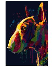 Bull Terrier Poster Unique Art V4 Vertical Poster tile