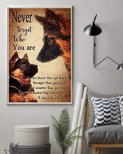 German Shepherd Nerver Forget 11x17 Poster lifestyle-poster-1