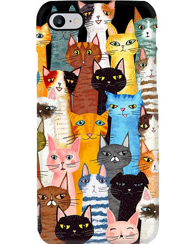 Cats  Phone Case Multi