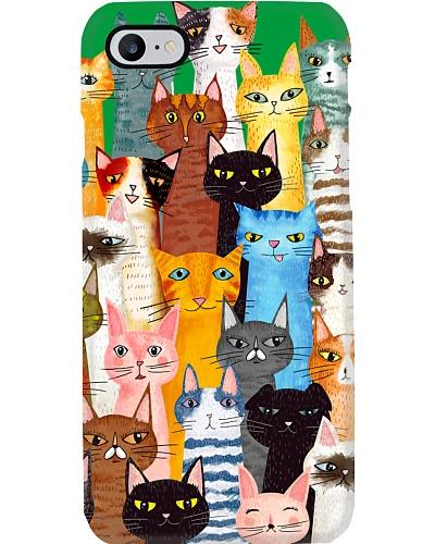 Cats  Phone Case Multi
