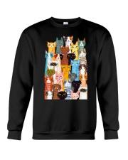 Cats  Phone Case Multi Crewneck Sweatshirt thumbnail