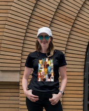 Cats  Phone Case Multi Ladies T-Shirt lifestyle-women-crewneck-front-4