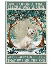 Westie you are my sunshine Vertical Poster tile