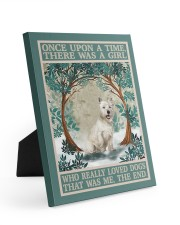 Westie you are my sunshine 8x10 Easel-Back Gallery Wrapped Canvas thumbnail