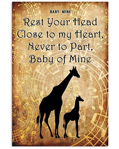 Girafe baby of mine