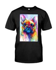 French Bulldog Water Color Phone Case Classic T-Shirt thumbnail
