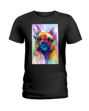 French Bulldog Water Color Phone Case Ladies T-Shirt thumbnail