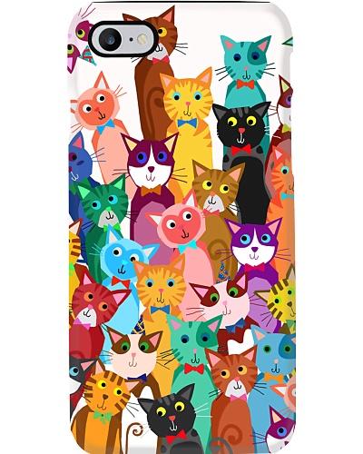 Cat Phone case multi