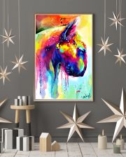 Bull Terrier Poster Water Color  11x17 Poster lifestyle-holiday-poster-1