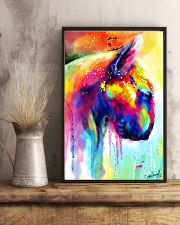 Bull Terrier Poster Water Color  11x17 Poster lifestyle-poster-3