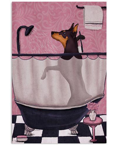 Doberman Pink Bathroom