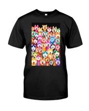 Husky Multi-Dog A1234 Classic T-Shirt thumbnail