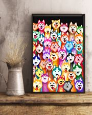 Husky Multi-Dog A1234 11x17 Poster lifestyle-poster-3