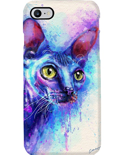 Sphynx Water Color Phone Case