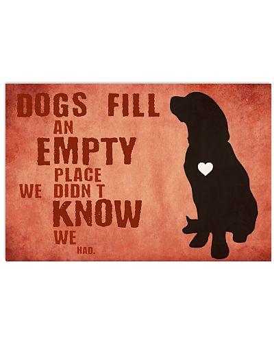 dog empty
