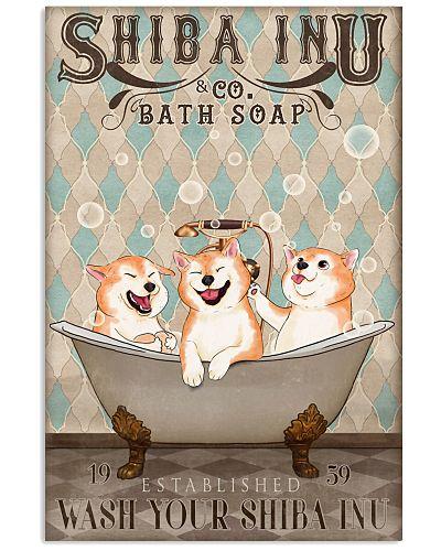 Shiba inu bath soap