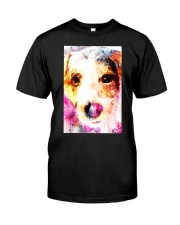 Jack Russell Face Art Water Color DF67 Classic T-Shirt thumbnail