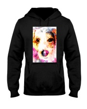 Jack Russell Face Art Water Color DF67 Hooded Sweatshirt thumbnail