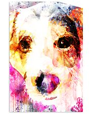 Jack Russell Face Art Water Color DF67 24x36 Poster thumbnail
