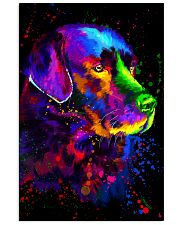 Labrador Water Color Art  16x24 Poster front