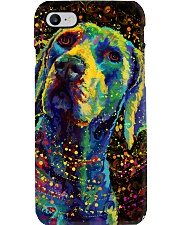 Weimaraner Poster Color Phone Case thumbnail
