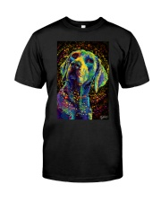Weimaraner Poster Color Classic T-Shirt thumbnail
