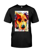 Jack Russell Water Color Art Flow A2 Classic T-Shirt thumbnail