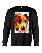 Jack Russell Water Color Art Flow A2 Crewneck Sweatshirt thumbnail