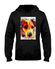 Jack Russell Water Color Art Flow A2 Hooded Sweatshirt thumbnail