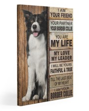 Border Collie Partner 20x30 Gallery Wrapped Canvas Prints front
